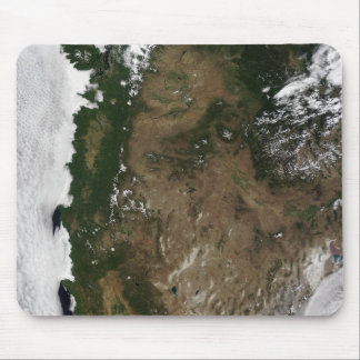 Tapis De Souris Région du nord-ouest Pacifique des Etats-Unis