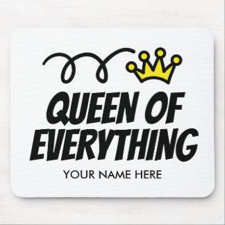 Tapis De Souris Reine de tout idée de cadeau de mousepad pour elle