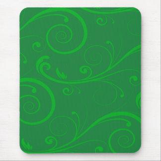 Tapis De Souris Remous de vert