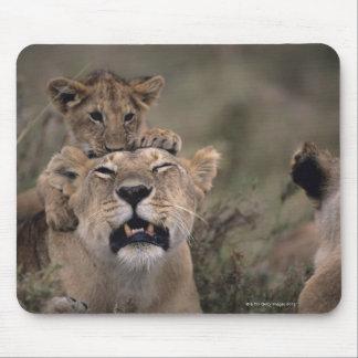 Tapis De Souris Réservation nationale 6 de Mara de masai