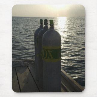 Tapis De Souris Réservoirs de plongée à l'air de Nitrox