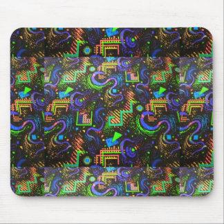 Tapis De Souris Rétro conception Mousepad de tapis d'arcade