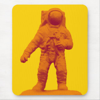 Tapis De Souris Rétro figurine d'astronaute