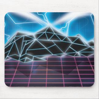 Tapis De Souris Rétro graphique de jeu vidéo des années 1980