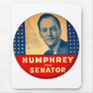 Tapis De Souris Rétro kitsch vintage Humphrey pour le bouton de