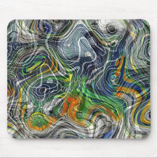 Tapis De Souris Rétro motif chic frais génial de marbre de