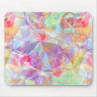 Tapis De Souris Rétro motif de mosaïque frais génial coloré de