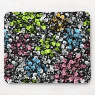 Tapis De Souris Rétro motif de pois coloré génial moderne