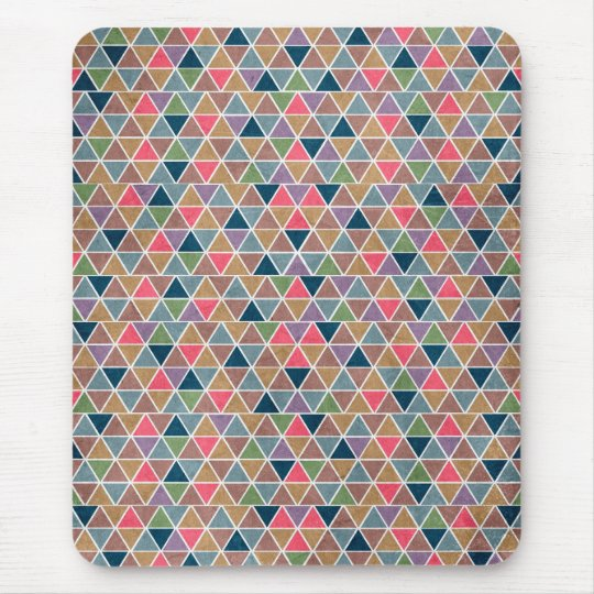 tapis de souris r tro motif g om trique color frais de. Black Bedroom Furniture Sets. Home Design Ideas