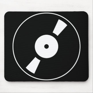 Tapis De Souris rétro vinly disque