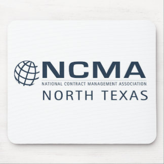 Tapis De Souris rév. 1 de ncma-logo_1color_north-texas