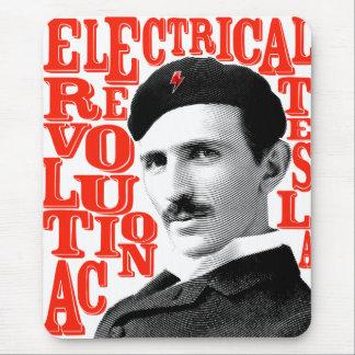 Tapis De Souris Révolution de Nikola Tesla