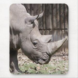 Tapis De Souris rhinocéros blanc