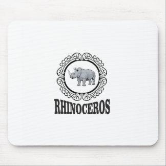 Tapis De Souris Rhinocéros dans la tasse