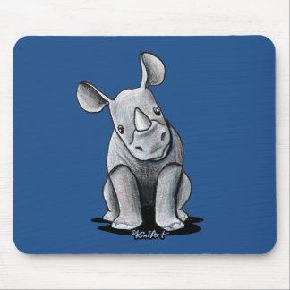Tapis De Souris Rhinocéros de KiniArt