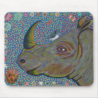 Tapis De Souris Rhinocéros Mousepad