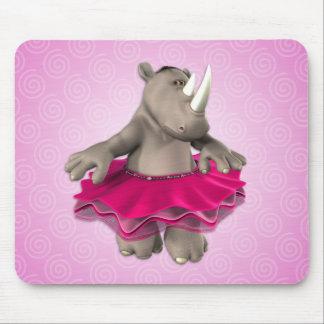 Tapis De Souris Rhinocéros Mousepad de Toon