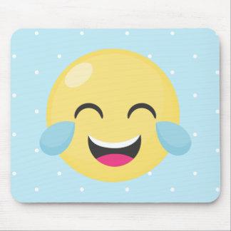 Tapis De Souris Rire les points bruyants d'Emoji