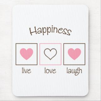 Tapis De Souris Rire vivant d'amour de bonheur