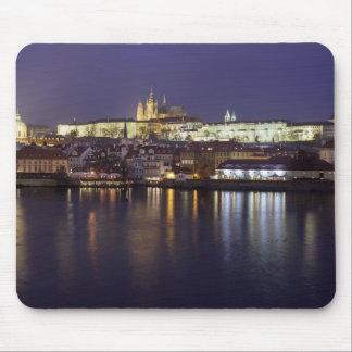 Tapis De Souris Rivière de Prague et photo de souvenir de vue de