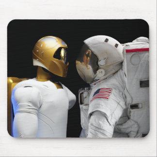 Tapis De Souris Robonaut 2, un adroit, hel 3 d'astronaute de