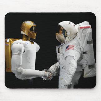 Tapis De Souris Robonaut 2, un adroit, hel 4 d'astronaute de