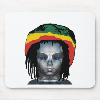Tapis De Souris Robotique Rastafarian