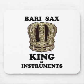 Tapis De Souris Roi de saxo de Bari des instruments