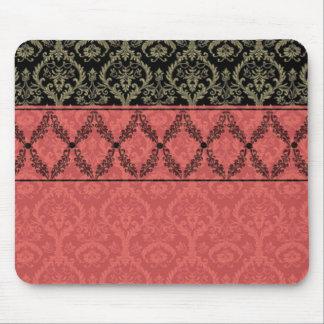 Tapis de souris rose de framboise de la conception