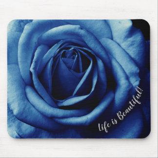 Tapis De Souris Rose Mousepad de bleu