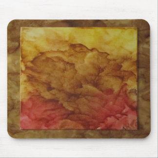 Tapis de souris rose sec