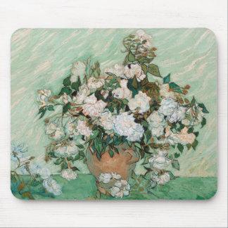 Tapis De Souris Roses de Vincent van Gogh |, 1890