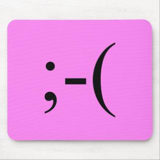 Tapis De Souris Roses indien tristes Emoji par Janz