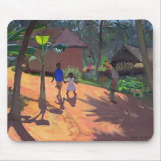 Tapis De Souris Route à la plage Kerala 1996 de Kovalum