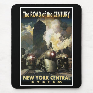 Tapis De Souris Route de NYC du siècle