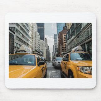 Tapis De Souris Route Nyc de rue de New York de cabine du trafic