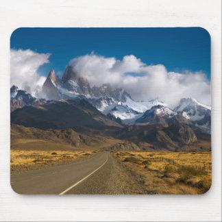 Tapis De Souris Route pour monter Fitzroy, Patagonia