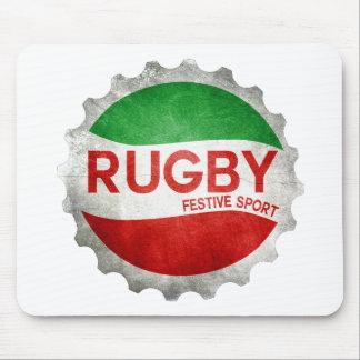 Tapis De Souris rugby basque festive sport