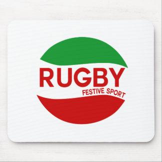 Tapis De Souris rugby festif basque