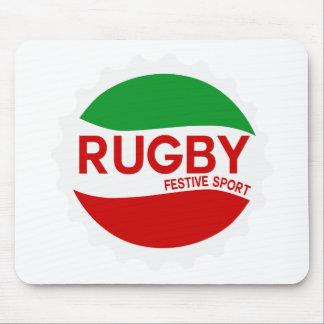 Tapis De Souris rugby festive sport