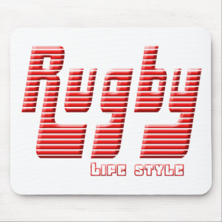 Tapis De Souris Rugby life style