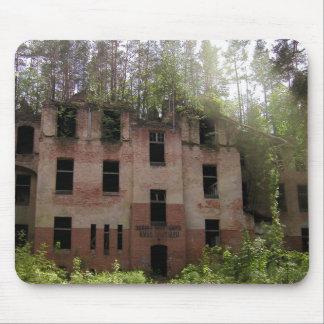 Tapis De Souris Ruine d'hôpital de Beelitz, Alpenhaus