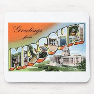 Tapis De Souris Salutations du Missouri
