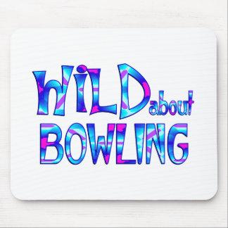Tapis De Souris Sauvage au sujet du bowling