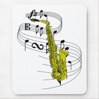 Tapis De Souris Saxophone