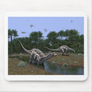 Tapis De Souris Scène de Dicraeosaurus