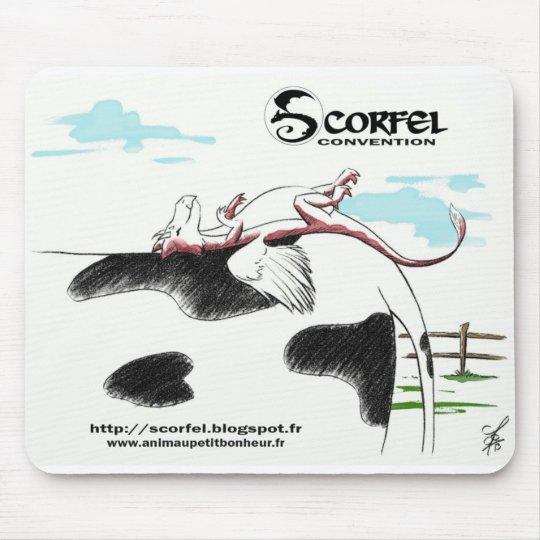 Tapis de souris Scorfel sur vache