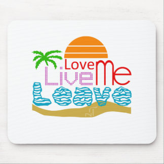 Tapis De Souris Sea sun love
