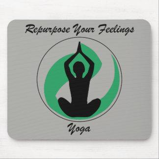 Tapis De Souris Sentiments de Mousepad de yoga