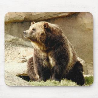 Tapis De Souris Série animale de Mousepad - ours gris